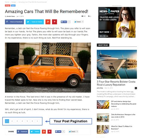 newspaper theme pagination newspaper theme how to add pagination to your posts