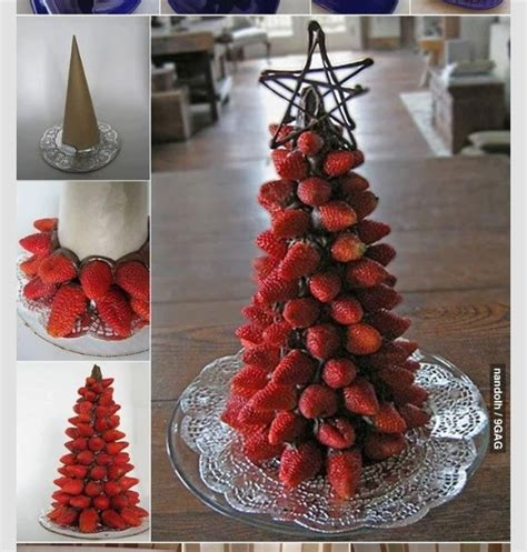 edible christmas trees as centerpieces trusper