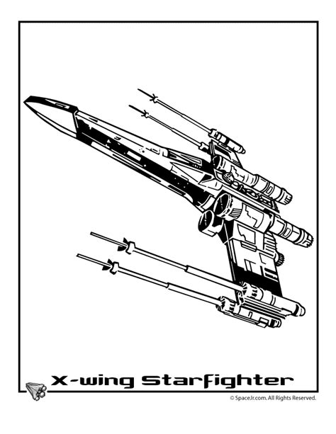 x wing starfighter coloring page x wing fighter clip art 13