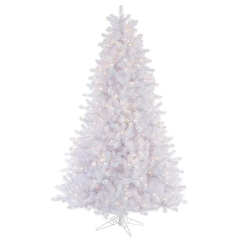 pre lighted tree 15 white pine tree pre lighted dura lit