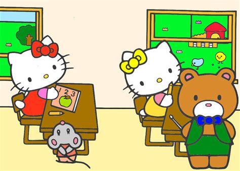 imagenes hello kitty y sus amigos im 225 genes de hello kitty y sus amigos imagui