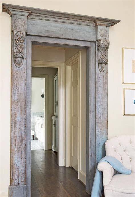 painting door frames moulding and corbel door frame remodeling pinterest
