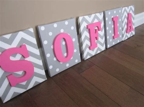 How To Decorate Wooden Letters For Nursery Wooden Letters For Nursery Wall Thenurseries