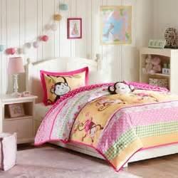 Kids bedding sets gt mizone kids monkey business 3 piece twin comforter