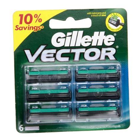 Gillette Vector 2 Cartridges gillette cartridges vector 4 pcs buy at best