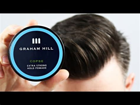 Pomade Ekstra Hold graham hill 3 copse strong hold pomade