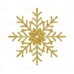 gold ornaments gold glitter foil ornament snowflake stock