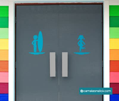 insegna bagno insegna porta bagno mare adesivo murale sticker da