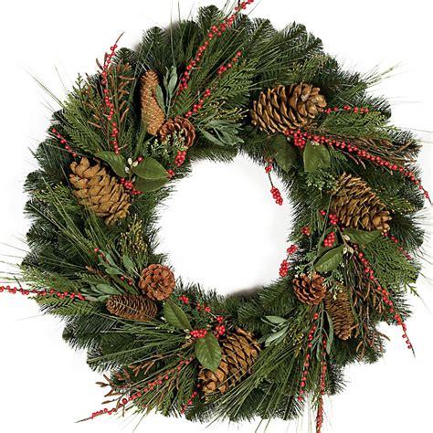 30 inch austrian pine wreath c 100790