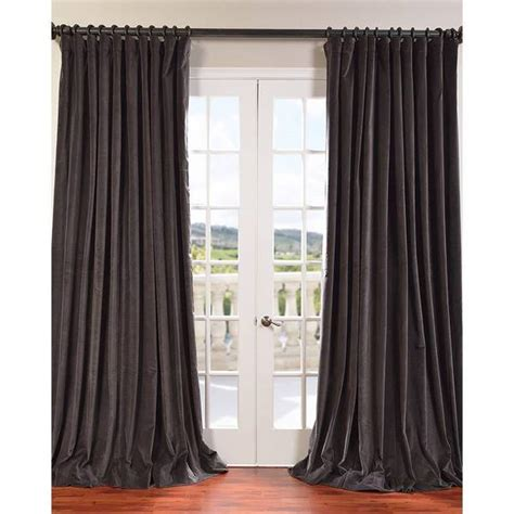 wide drapes exclusive fabrics extra wide vintage cotton velvet curtain