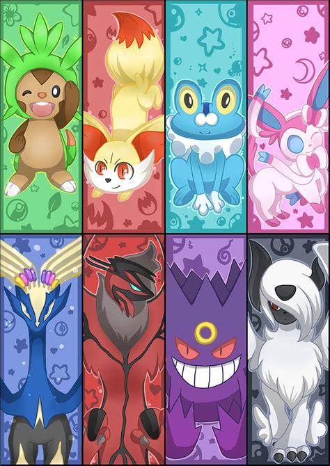 printable anime bookmarks free pokemon xy bookmark set by brbeeps on deviantart