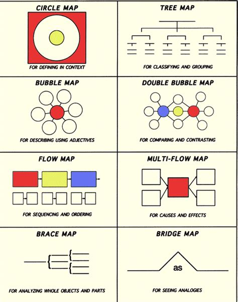 thinking maps templates mrs collier