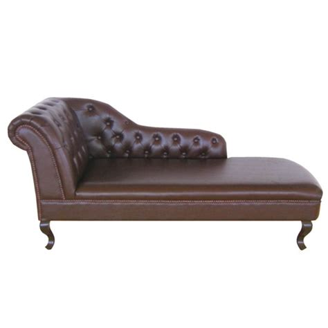 Where To Put A Chaise Lounge antique genuine leather chaise lounge right armrest