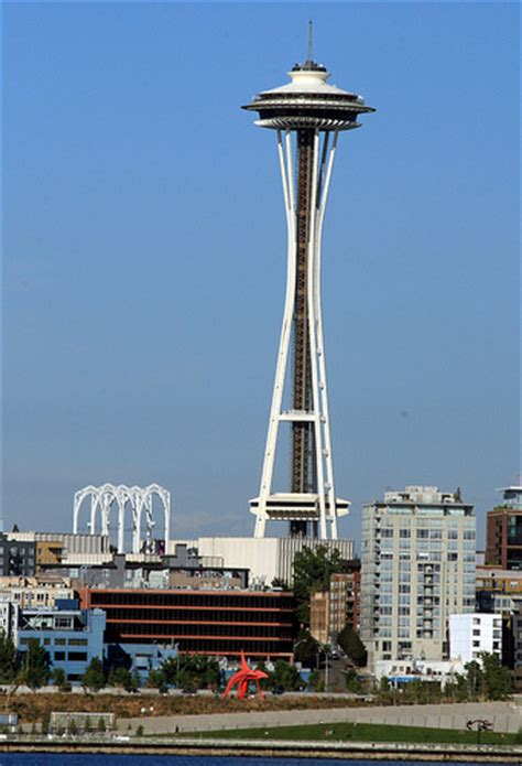 seattle map with landmarks seattle s landmark space needle i lived in seattle for