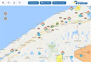 california power outage map numerous power outages dot annapolis valley local the