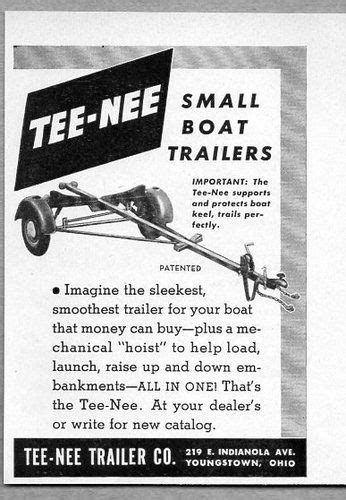 boat trailers youngstown ohio 1000 images about vintage boat ads on pinterest boats