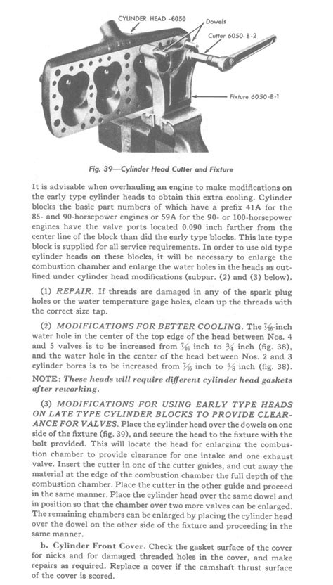 section 125 maintenance ford flathead v8 engine overhaul section 125 pg 2