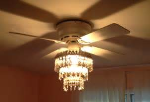 Ceiling Fan With Chandelier Mess Of The Day Ikea Hack Ceiling Fan Chandelier