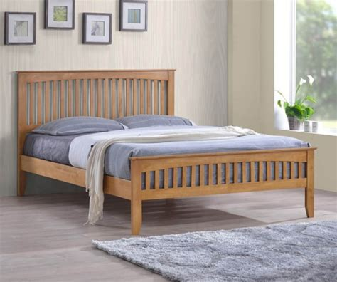 Cheap Size Bed Frames by Cheap Solid Oak Bed Frames In Single King Size Beds