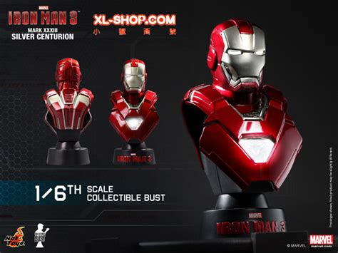 Toys 16 Bust Deluxe Set Series 1 toys htb14 20 iron 3 1 6th scale collectible bust series deluxe set