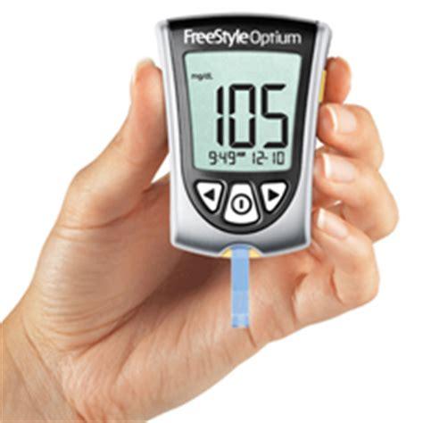 Alat Tes Diabetes jual alat ukur kadar gula abbott diabetes care freestyle optium monitor kenali gejala kontrol