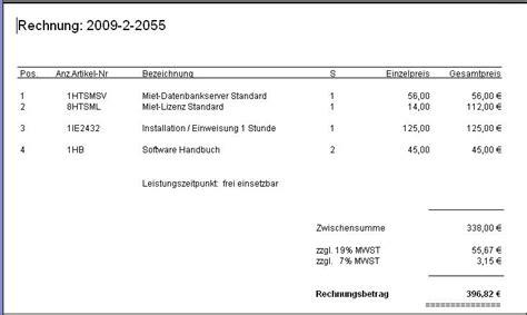 Rechnung An Schweiz Mit Mwst Rechnung Mit Unterschiedlichen Mwst Schl 252 Sseln Harmony