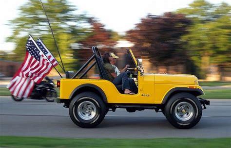 cj jeep yellow yellow jeep cj 5 at cruise by ekstrom via
