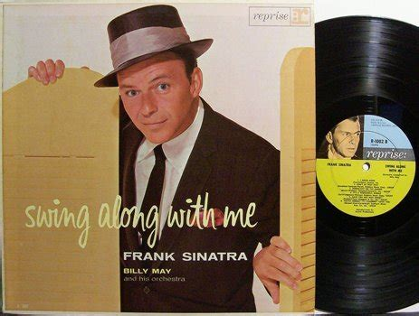 frank sinatra swing along with me sinatra frank swing along with me vinyl lp record pop