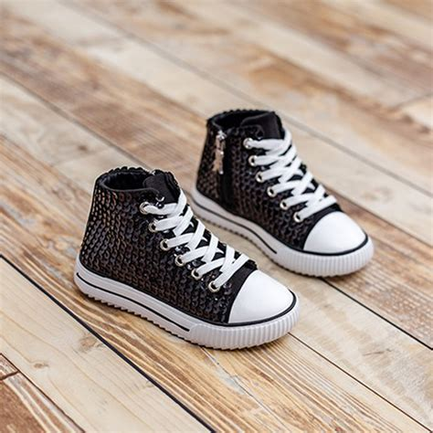 sparkling shoes for silver shoes for kid glitter sparkling children sneakers