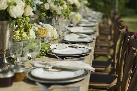 elegant reception table settings elizabeth anne designs rustic elegant outdoor reception table decor elizabeth