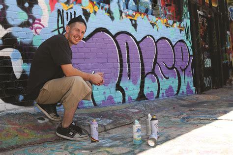 local graffiti artist seeks  stimulate minds
