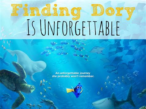 finding dory is unforgettable findingdory abc creative
