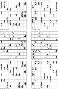 Print sudoku 4 per page elhouz