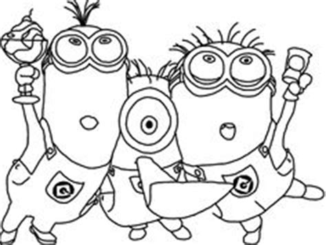 hula minion coloring page hula minion coloring pages coloring pages