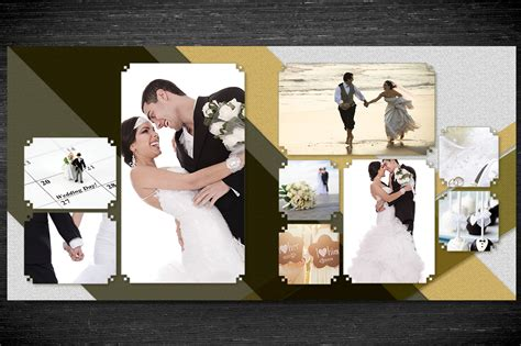 wedding photo templates design wedding photobook template v2 20x20cm
