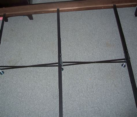 Wood Bed Frame Supports Wooden Railed Bed Frame Metal Support System