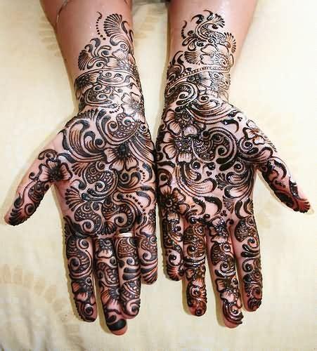 henna tattoo black ink black ink henna design