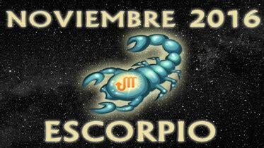 horoscopo escorpio 2016 hor 243 scopo escorpio noviembre 2016