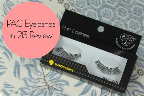 Makeup Remover Pac pac eyelashes in 213 review price fotd