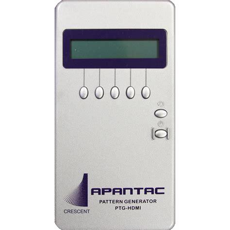 Hdmi Pattern Generator 1080p | apantac hdmi test pattern generator with 34 patterns ptg hdmi