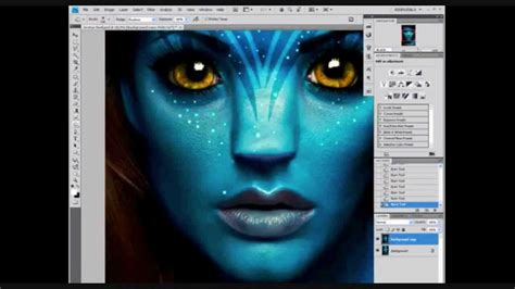 Tutorial Photoshop Cs5 Avatar | avatar yourself using photoshop cs5 youtube