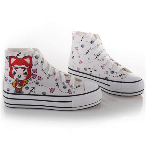 handwork drawing s canvas shoes 12