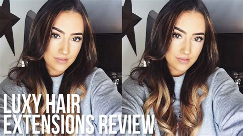 Luxy Hair Reviews by Luxy Hair Extensions Review Coupon Code Dallis Jett