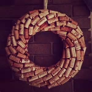 Wine cork wreath liza s board pinterest