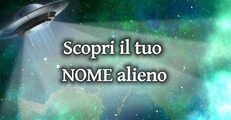 test nomi scopri il nome alieno corrispondente al nome