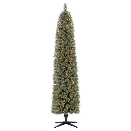 holiday time 7 shelton cashmere pencil fir christmas tree