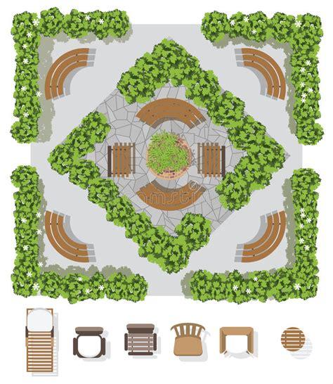 garden layout vector garden plan top view www pixshark com images galleries
