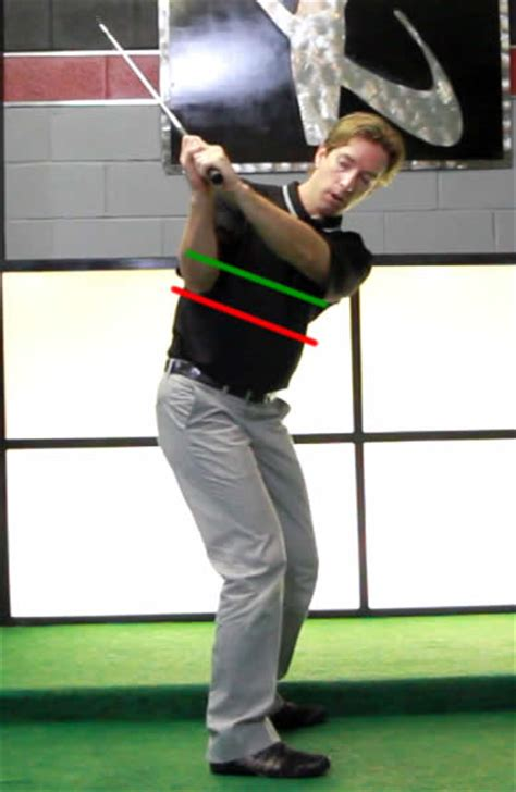 start golf swing with right shoulder how much do the arms elevate in the golf backswing