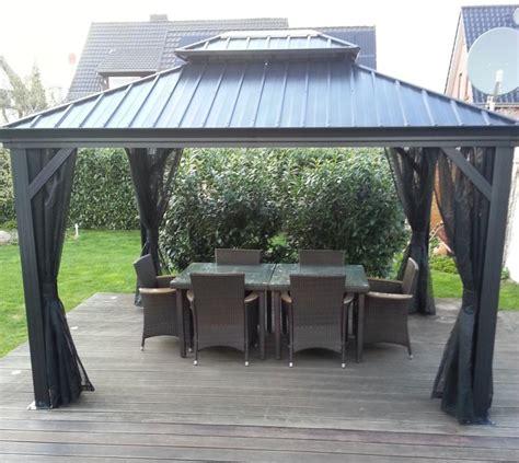 pavillon mit festem dach 3x4 premium pavillons