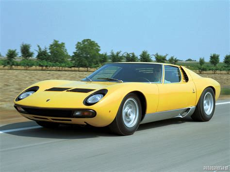 Lamborghini Articles Lamborghini Miura Photos Informations Articles